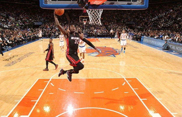 James Ennis Dunk vs. Knicks