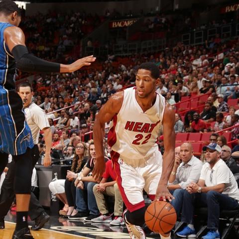 Danny Granger of the Miami Heat
