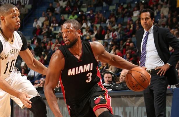 Dwyane Wade vs. New Orleans Pelicans