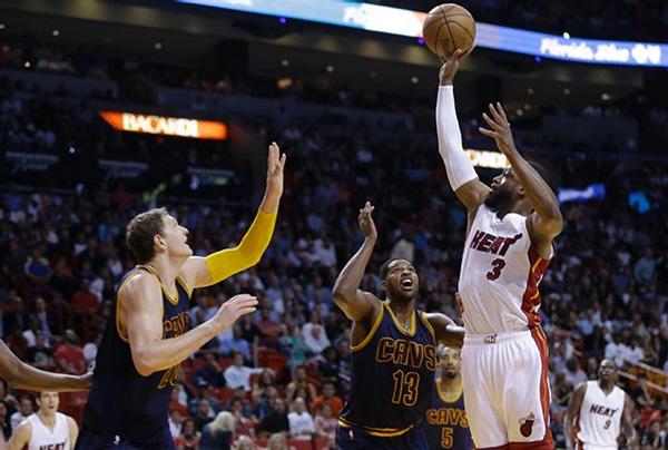 Miami Heat vs. Cleveland Cavaliers Game Recap: Flash Back