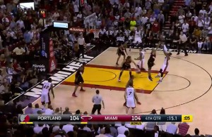 Video: Dwayne Wade Hits the Clutch Go-Ahead Jumper