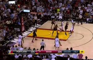 Video: Dwayne Wade Hits the Clutch Go-Ahead Jumper