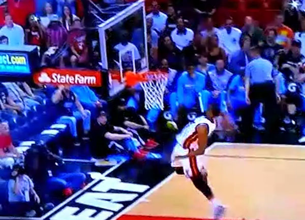 Video: Hassan Whiteside Throws Down the Showtime Slam
