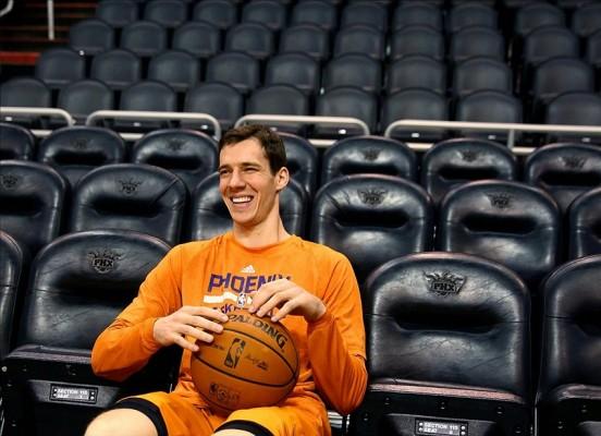 Goran Dragic of the Phoenix Suns