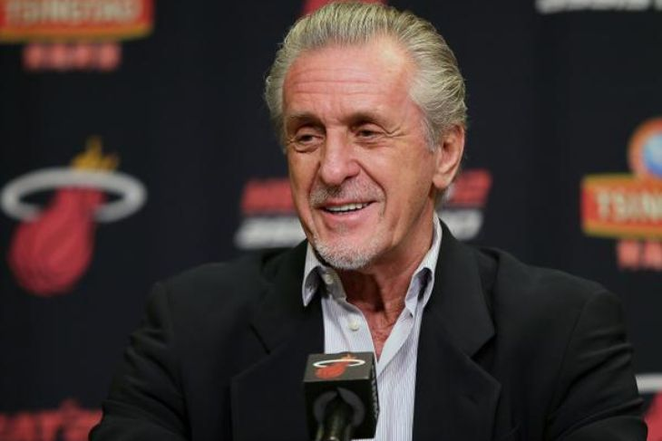 Pat Riley Takes Subtle Jab at LeBron James, Confident Goran Dragic Won't Bolt