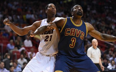 Center Hassan Whiteside has been giving the Cavs problems all season long.