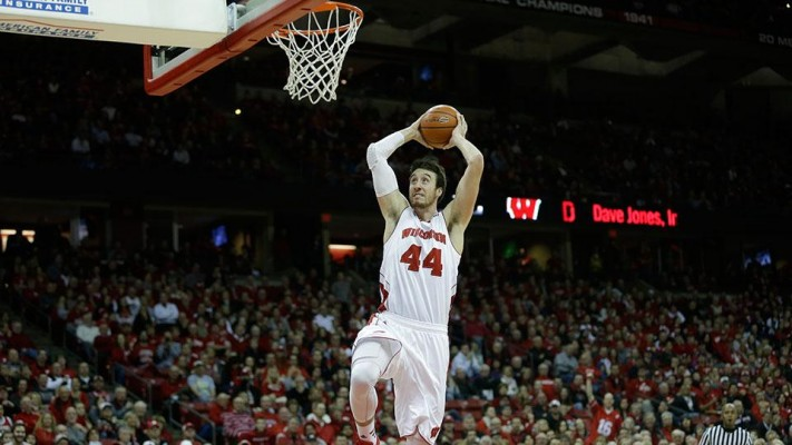 wisconsin-frank-kaminsky-rutgers-game-time-decision