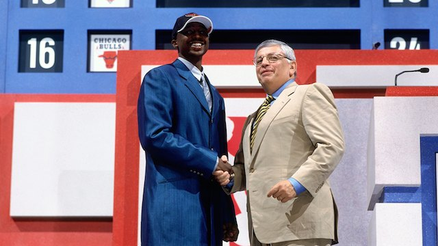 Jason Terry 1999 NBA Draft