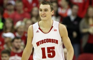 Sam Dekker of Wisconsin