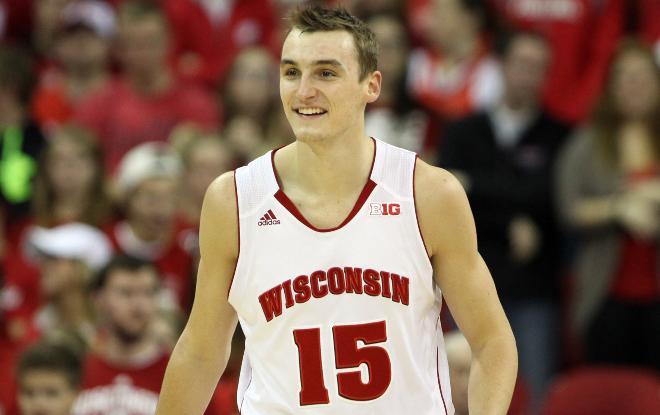 Sam Dekker of Wisconsin