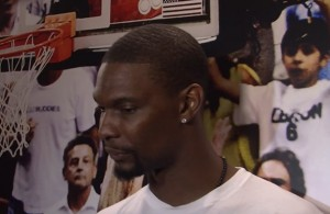 Chris Bosh Discusses LeBron James, Playoffs and Blood Clots Ailment