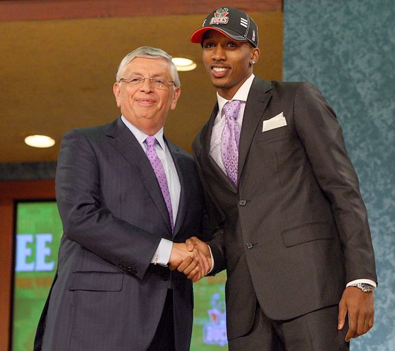 Brandon Jennings NBA Draft
