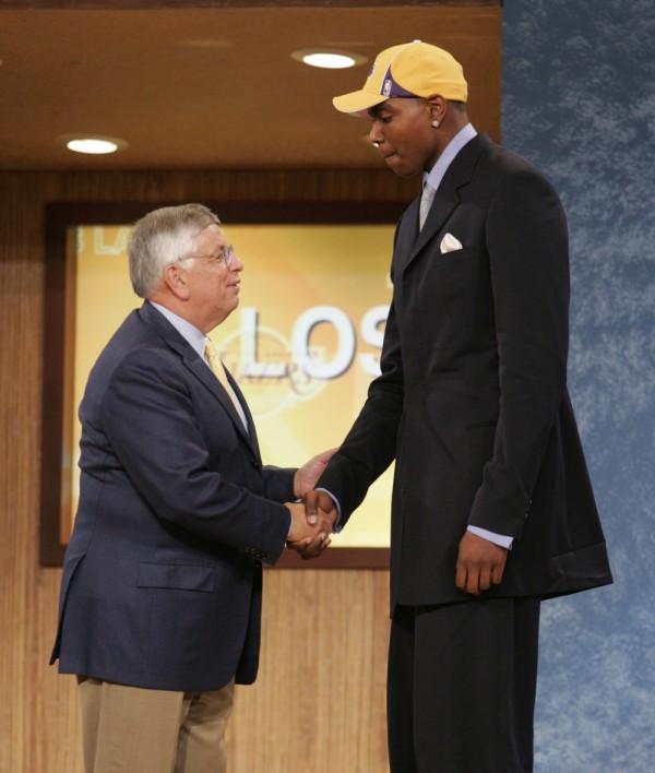 Andrew Bynum 2005 NBA Draft