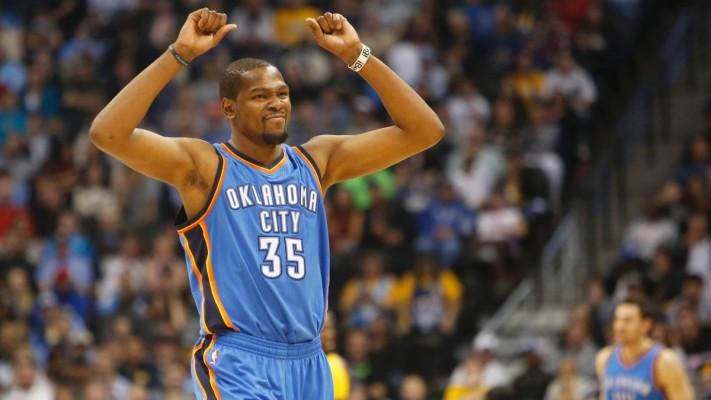 Kevin Durant of the Oklahoma City Thunder