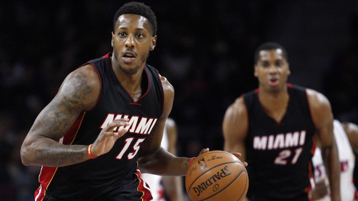Mario Chalmers and Hassan Whiteside Uncertain of Wade's Contract Status