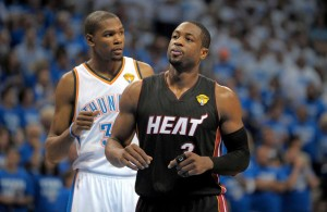 Report: Heat Want Dwyane Wade To Use Opt-In Clause To Go After Kevin Durant In 2016