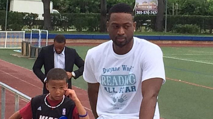 Dwyane Wade Refuses to Discuss Contract Situation, Will Take Course at Harvard