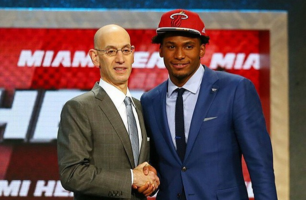 Justise Winslow of the Miami Heat