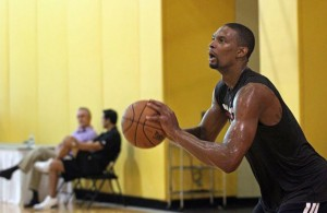 Miami Heat News: Chris Bosh (Blood Clots) Doing On-Court Workouts