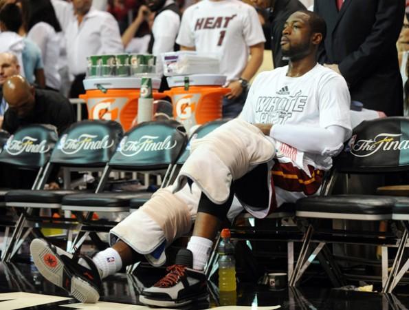 Dwyane Wade injury