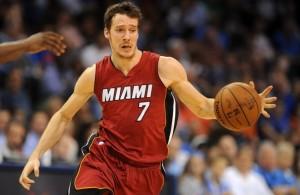 Goran Dragic of the Miami Heat