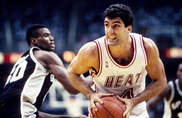 Rony Seikaly of the Miami Heat