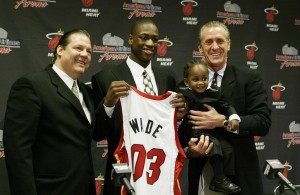Dwyane Wade of the NBA Draft