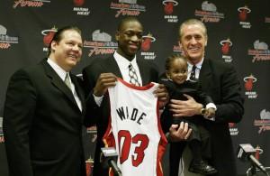 Dwyane Wade of the NBA Draft