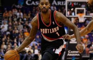 Dorell Wright of the Portland Trail Blazers