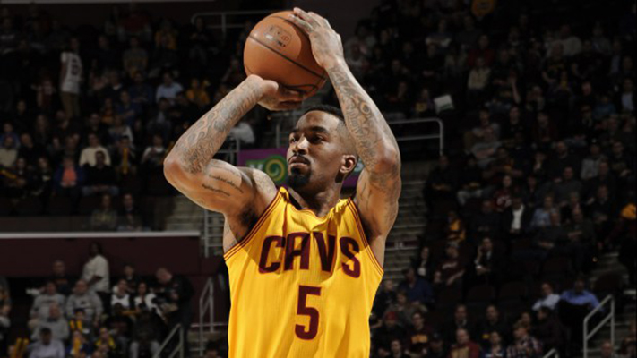 J.R. Smith of the Cavs