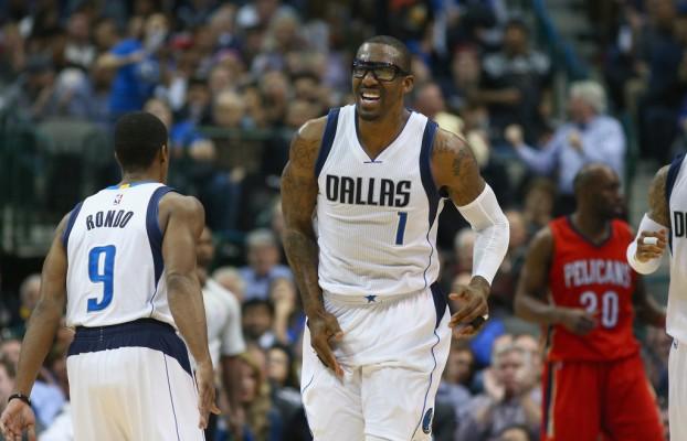 Amare Stoudemire of the Dallas Mavericks