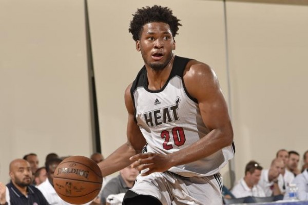 Justise Winslow of the Miami Heat Summer League