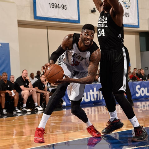 Willie Reed of the Miami Heat