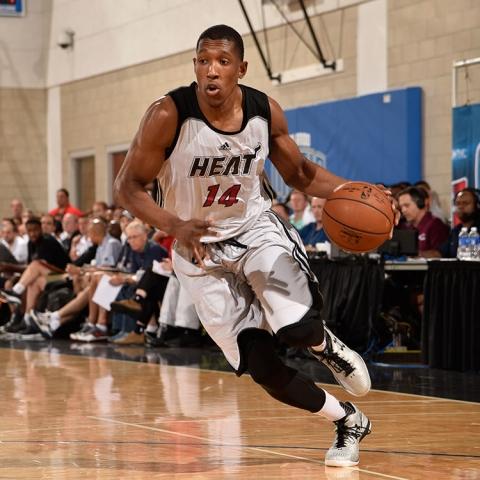 Josh Richardson of the Miami Heat