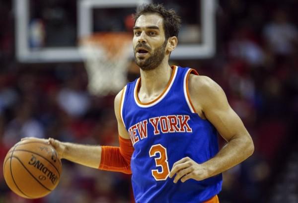 Jose Calderon of the New York Knicks