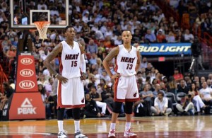 Mario Chalmers and Shabazz Napier
