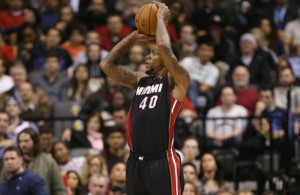 Udonis Haslem Working on Developing Three-Point Shot