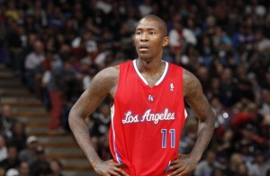 SACRAMENTO, CA - NOVEMBER 1: Jamal Crawford #11 of the Los Angeles Clippers in a game against the Sacramento Kings on November 1, 2013 at Sleep Train Arena in Sacramento, California. NOTE TO USER: User expressly acknowledges and agrees that, by downloading and or using this photograph, user is consenting to the terms and conditions of Getty Images License Agreement. Mandatory Copyright Notice: Copyright 2013 NBAE (Photo by Rocky Widner/NBAE via Getty Images)