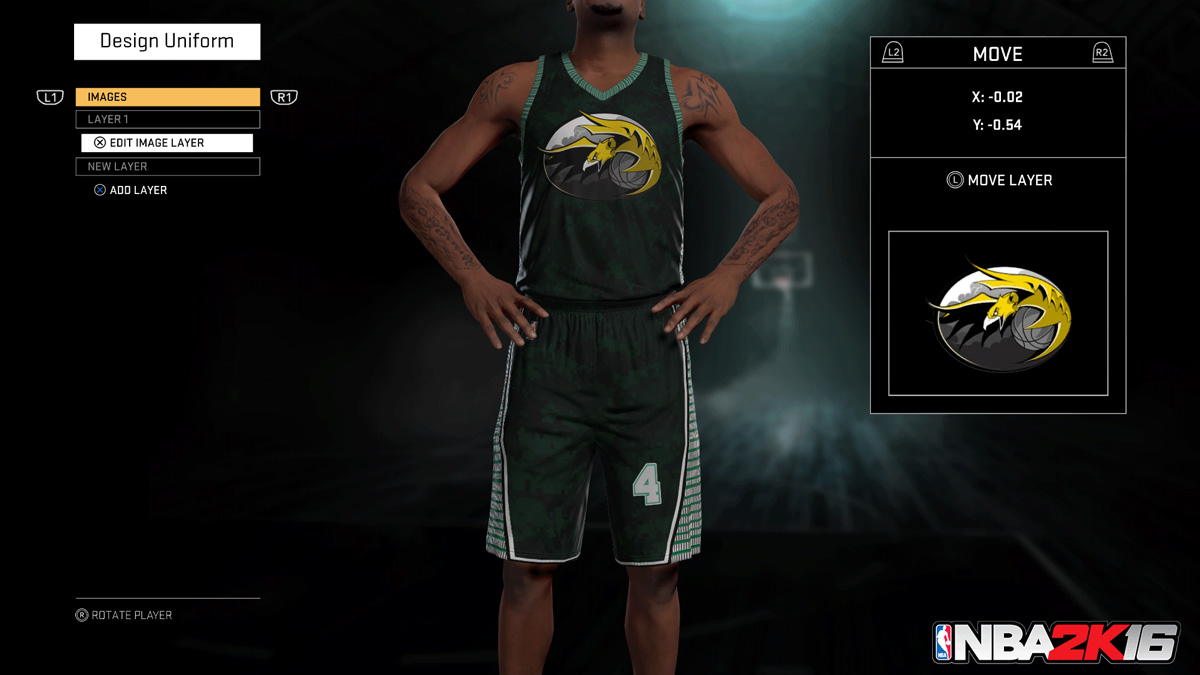 how to use created player in mygm 2k18
