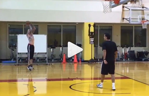 Video: Chris 'Birdman' Andersen Makes 16 Shots in a Row