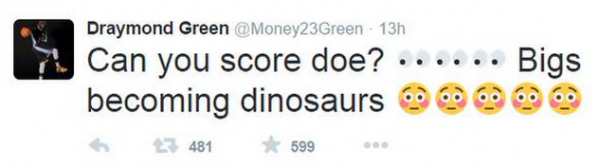 Draymond Green Tweet 1