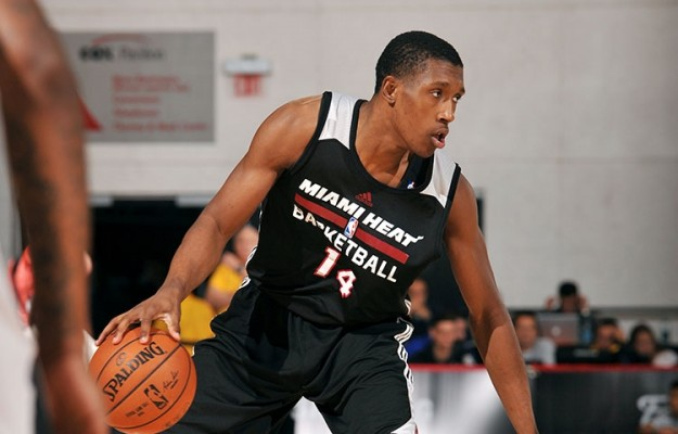 Josh Richardson of the Miami Heat