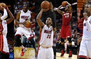 MIami Heat Starting 5