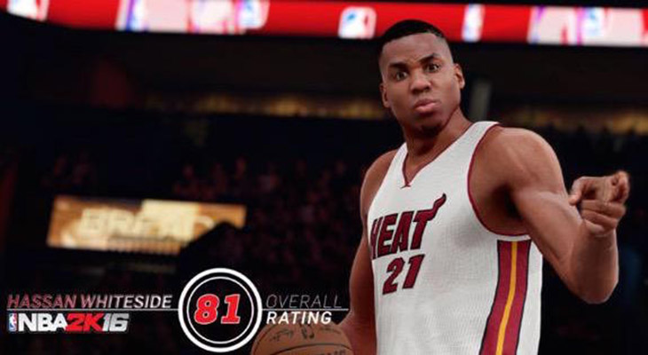 Hassan Whiteside NBA 2K16