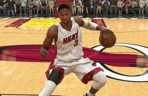 Dwyane Wade NBA 2K16