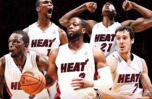 Miami Heat Starting Five