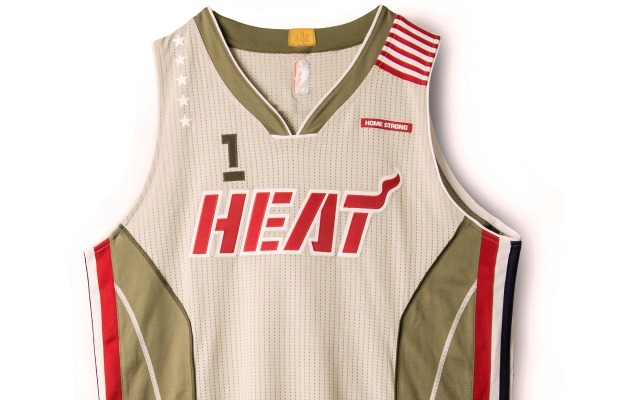 Miami Heat Jersey Home Strong Front