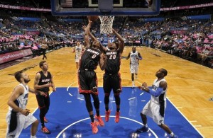 Josh Richardson and Justise Winslow vs. Orlando Magic on October 13, 2015