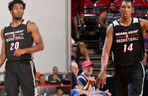 Justise Winslow and Josh Richardson