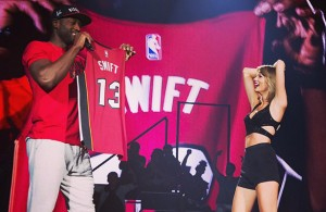 Video: Dwyane Wade Welcomes Taylor Swift to Miami on '1989 Tour'
